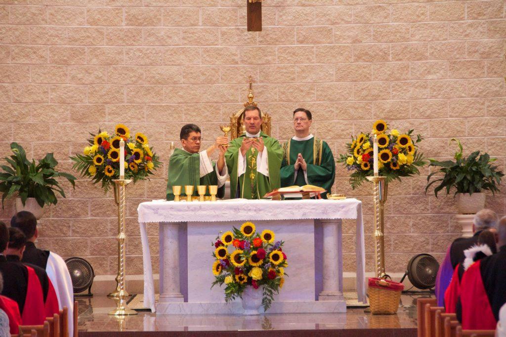 fortieth anniversary mass consecration